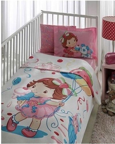 Постільна білизна для немовлят Tac Disney Піку - Strawberry Capcake baby