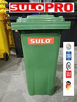 Мусорный контейнер SULO для ТБО 240 лит Евроконтейнер Германия, фото 1