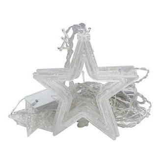 Нічник в кімнату Зоряний завісу 2,5 м (білий), 8 режимів, від мережі, фото 2