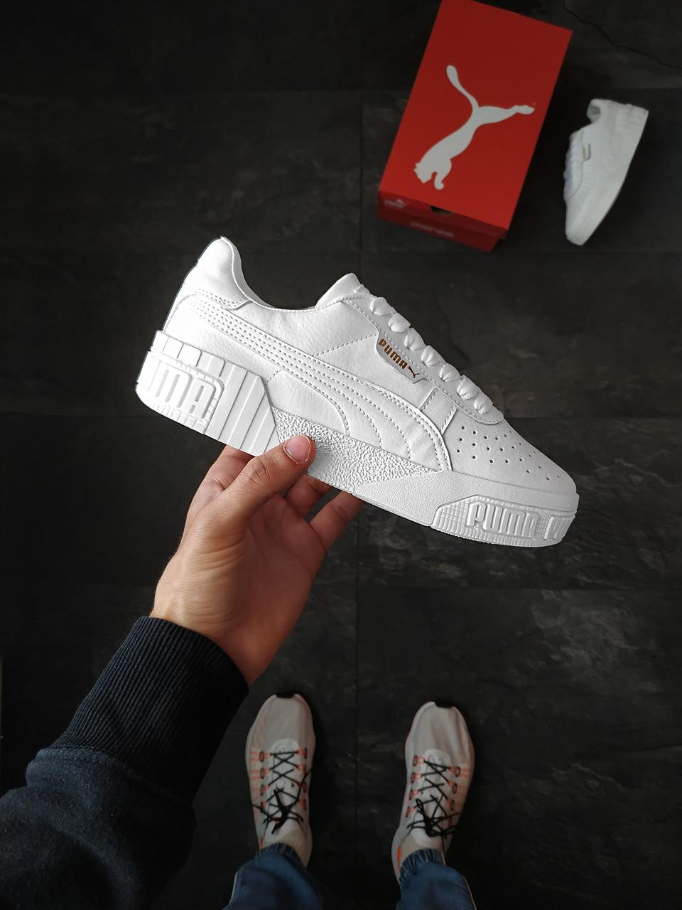 Кросівки Puma Cali White жіночі шкіряні