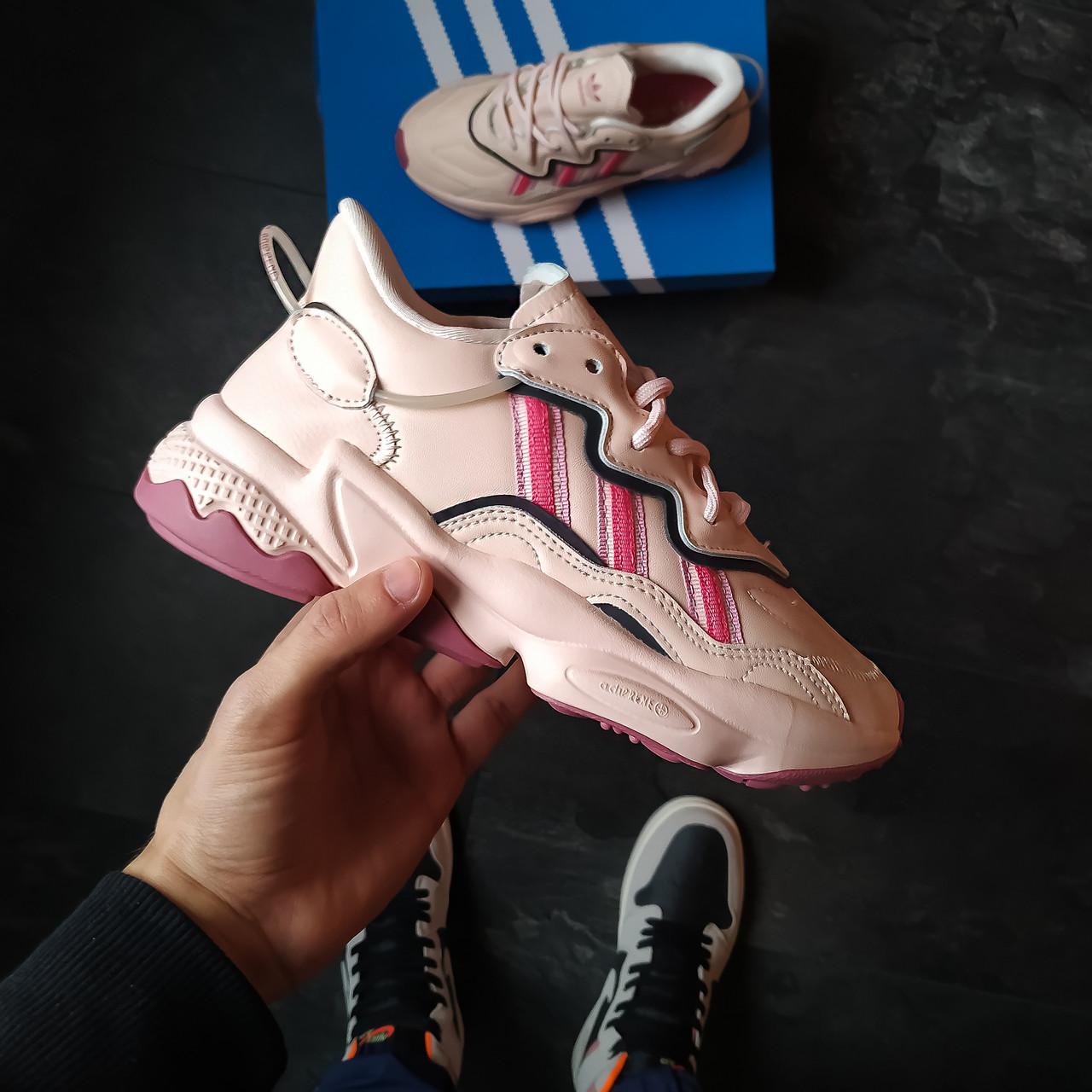 Жіночі кросівки Adidas Ozweego pink