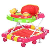 Ходунки дитячі Kronos Toys M 3463-До 2в1 качалка 72x61x53 см (СКЛАД)