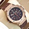 Механические наручные часы Hublot Big BangGold/Brown 1226