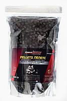 Пелети короповий, пелети для риболовлі, пелети Carp Drive Black Premium Halibut ( з отвором) 8 мм 900 гр., фото 1