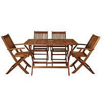 Набор садовой мебели для отдыха стол + 4 кресла комплект для сада
