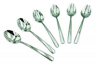 Набор десертных ложек Con Brio CB-3607 из 6 предметов нержавеющая сталь