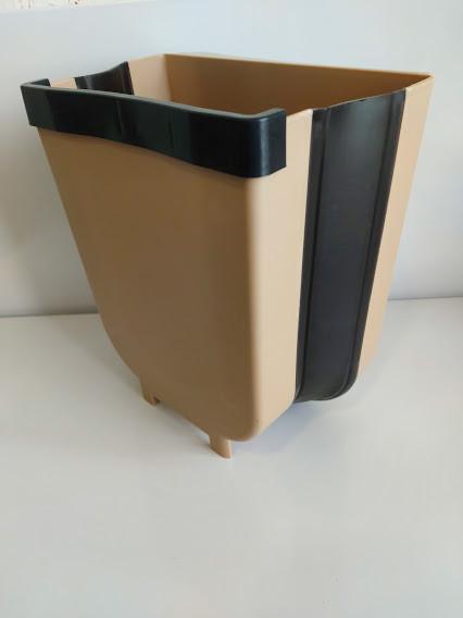 Мусорное ведро контейнер складной для подвешивания на дверцу Маленькое