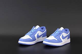 Жіночі сині кросівки Nike Air Jordan 1 Retro