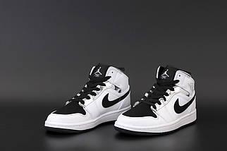 Білі жіночі кросівки Nike Air Jordan 1 Retro