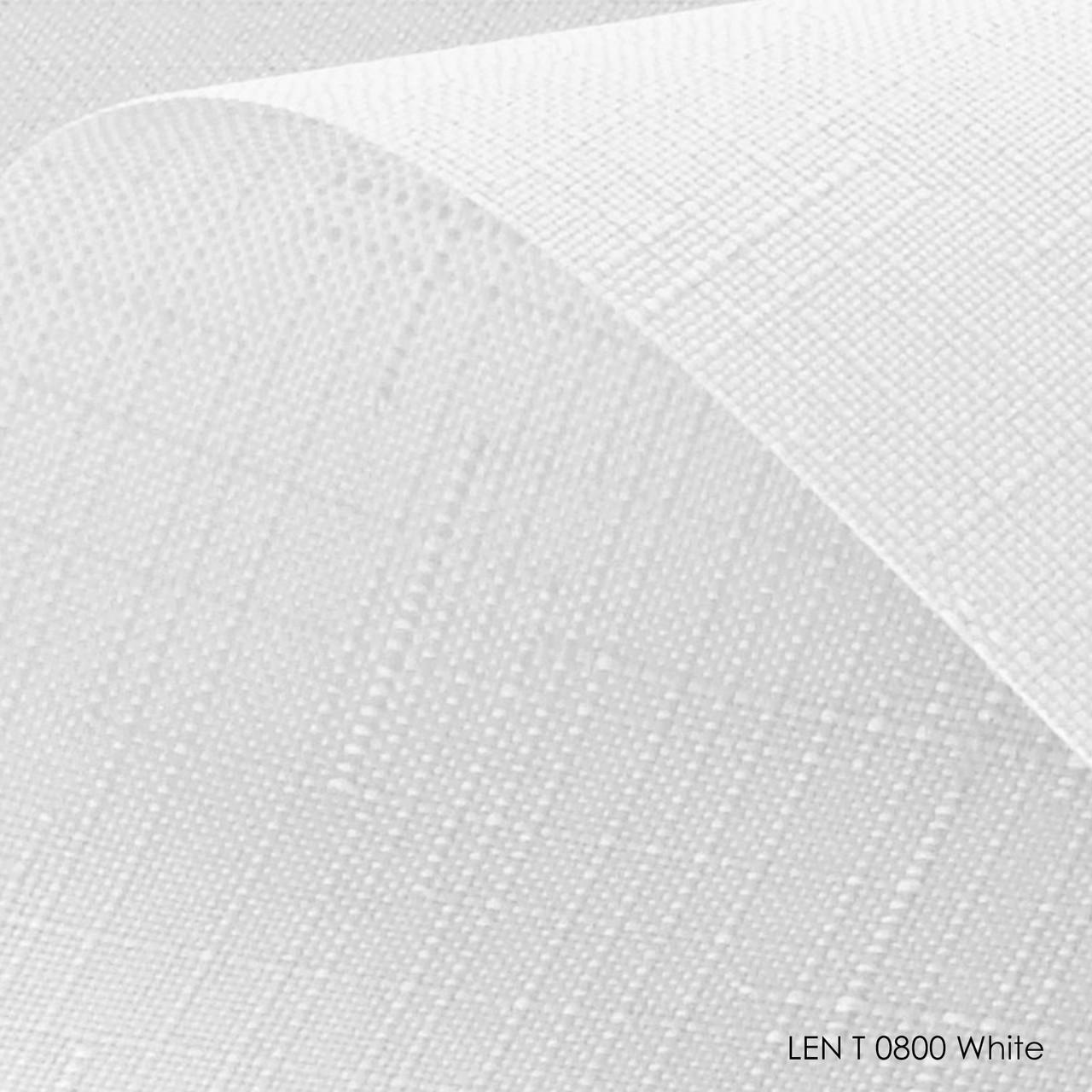 Ролеты тканевые белые Len T 800