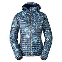 Куртка Eddie Bauer Womens MicroTherm StormDown Hooded Jacket SAPHIRE (L)