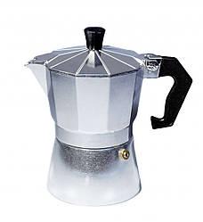 Гейзерна кавоварка Con Brio CB-6106 на 6 чашок | турка Con Brio