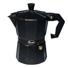 Гейзерна кавоварка Con Brio CB-6409 на 9 чашок | турка Con Brio