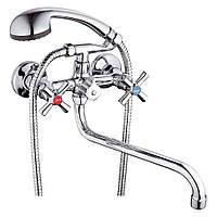 Смеситель для ванны ZEGOR DMT 7A, Смесители ванная, Кран смеситель, Врезные смесители для ванны, магазин Gipo