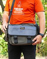 Сумка спінінгіста, Сумка спінінгіста універсальна, Спиннинговая сумка, Fisher, фото 1
