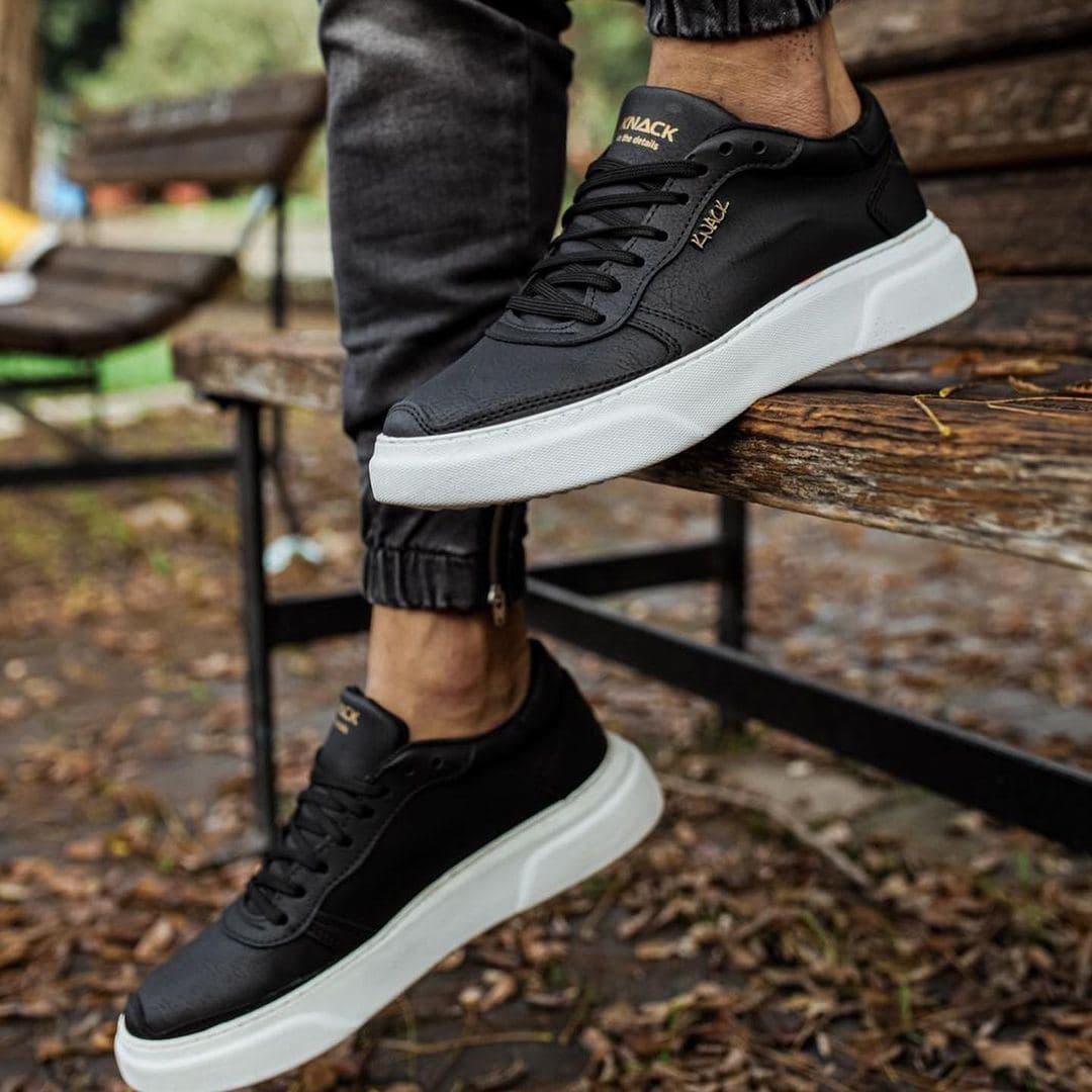 Мужские кроссовки Knack 24 black/white