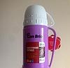 Вакуумный термос со стеклянной колбой Con Brio CB-355 (450 мл)   термочашка Con Brio   термос 0,45л фиолетовый, фото 2