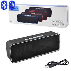 Портативная Bluetooth колонка SC-211, c функцией speakerphone, радио