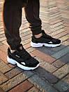 Чоловічі кросівки Adidas Falcon, Black, фото 4
