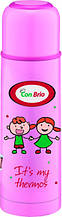 Вакуумний термос з нержавіючої сталі Con Brio CB-345 (500 мл) | термочашка Con Brio | термос 0,5 л рожевий