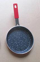 Сковорода з антипригарним покриттям Con Brio Mini CB-1414 (14см)   сковорідка Con Brio червона
