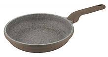Сковорода с антипригарным покрытием Con Brio CB-2426 (24 см)   сковородка Con Brio серая