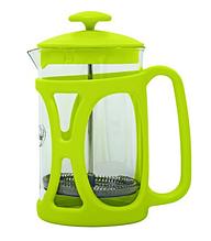 Френч-пресс для заваривания Con Brio CB-5380 (800 мл) стекло+пластик   заварник   заварочный чайник зелёный