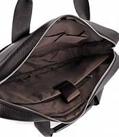 Офісна чоловіча сумка для ноутбука і документів SK N8956 чорна, фото 4