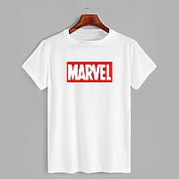 Футболка с принтом Marvel (Марвел) (0605)