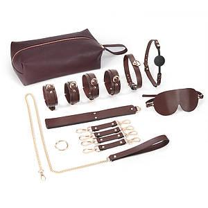 Набор для БДСМ Brown Luxury 8