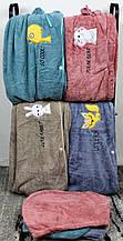 Комплект полотенец для сауны №4351 (уп. 1 шт.) Микрофибра