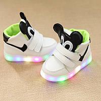 Детские кроссовки Микки для мальчиков, размер 29