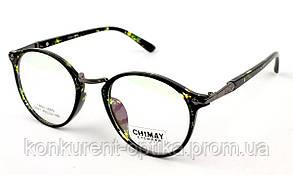 Имиджевые женские очки круглые Chimay 9021