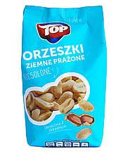 Арахис жареный несоленый Top Orzeszki zimne prazone, 400 г. Польша