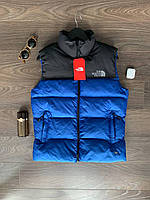 Мужская жилетка The North Face весенняя синяя