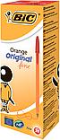 Ручка шариковая BIC ORANGE красная, фото 2