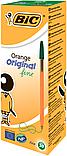 Ручка кулькова BIC ORANGE зелена, фото 2