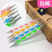 Дотс для дизайна ногтей - набор из 5 шт.