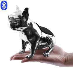 Портативная Bluetooth колонка Aerobull DOG METALLIC S5, c функцией speakerphone колонка собака