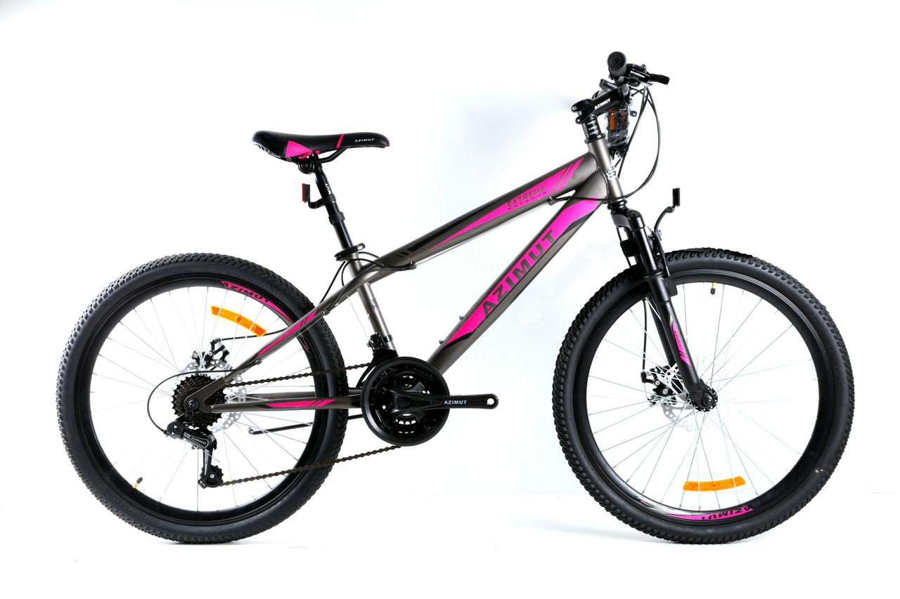 Подростковый велосипед горный 26 дюймов 14 рама Extreme Азимут FRD