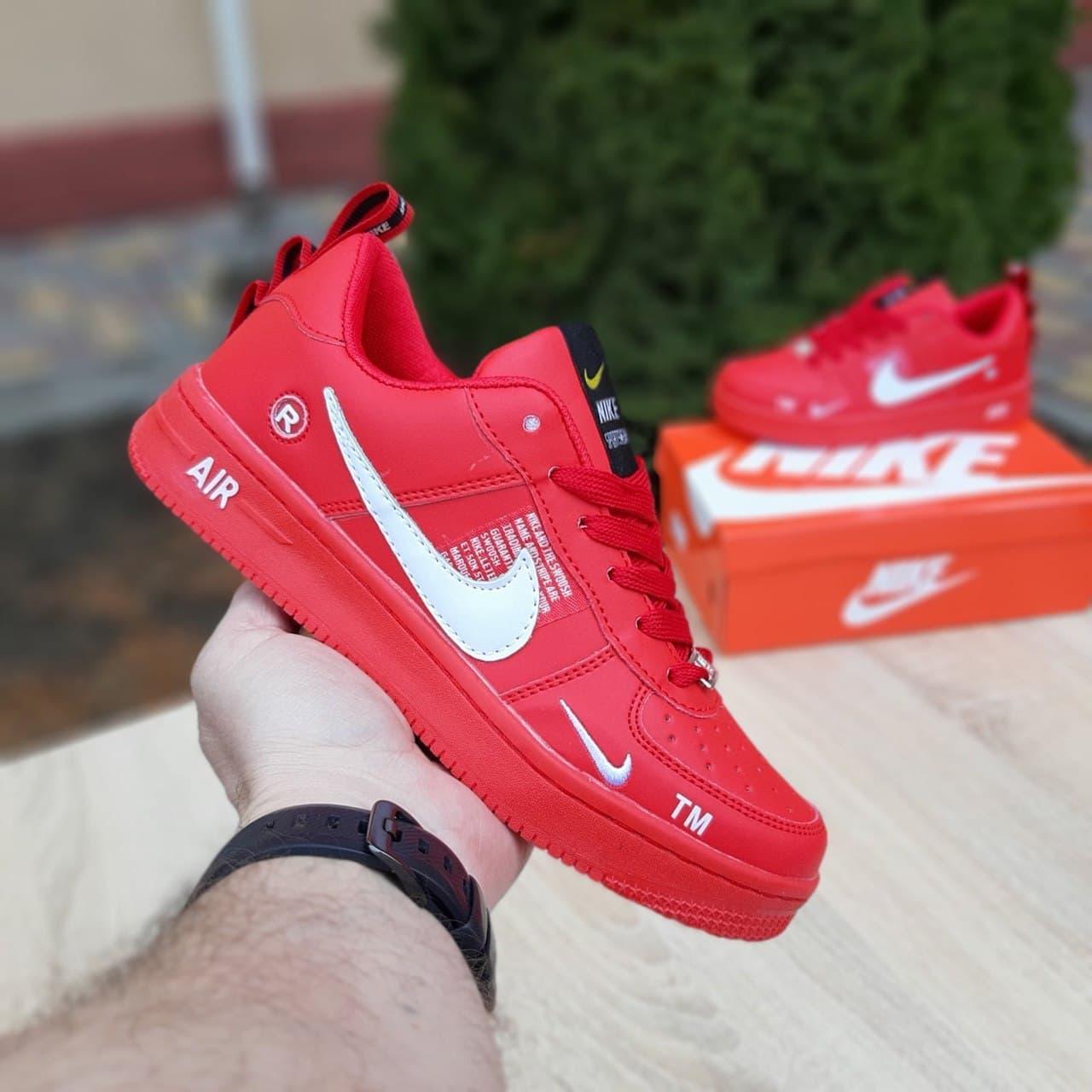 Кросівки Air Force 1 LV8 червоні жіночі кросівки 36-37