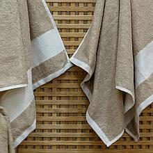 Полотенце хлопок/лен ТМ Речицкий текстиль, Под кружевыо 50х90 см