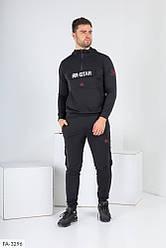 Мужской черный спортивный костюм «ЯR STAR»
