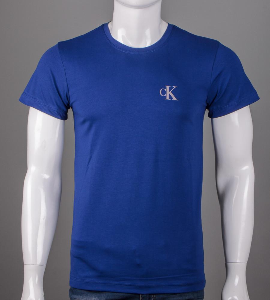 Футболка чоловіча Calvin Klein (5103м), Синій