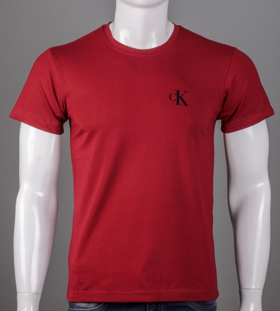 Футболка мужская Calvin Klein (5103м), Бордовый