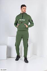 Мужской зеленый спортивный костюм «ЯR STAR»