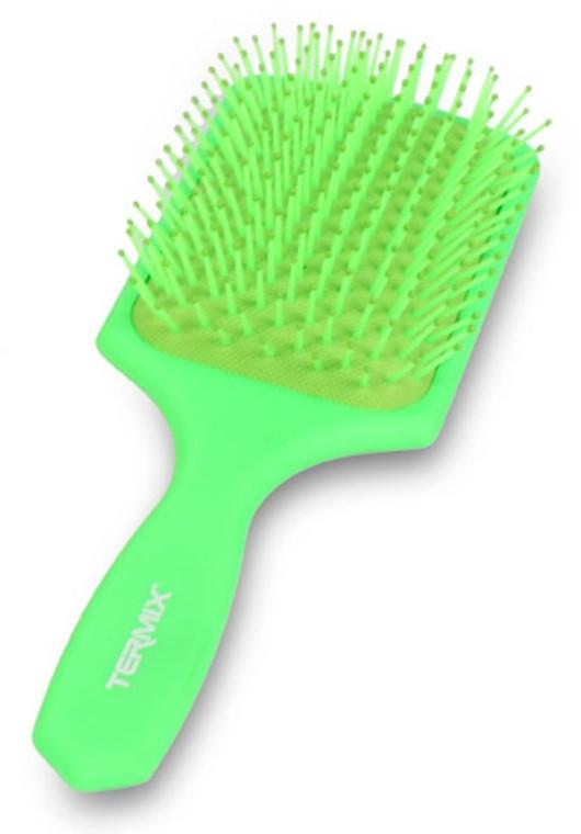 Массажная щетка для волос зеленая Termix Colors Fluor Limited Edition