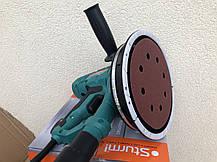 Шліфмашина для стін і стелі Sturm DWS6075SLM+ 10 кіл в подарунок., фото 2