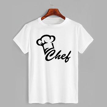 Футболка з принтом Chef