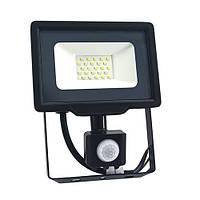Прожектор LED BIOM S5 20W 6200К с датчиком, фото 1